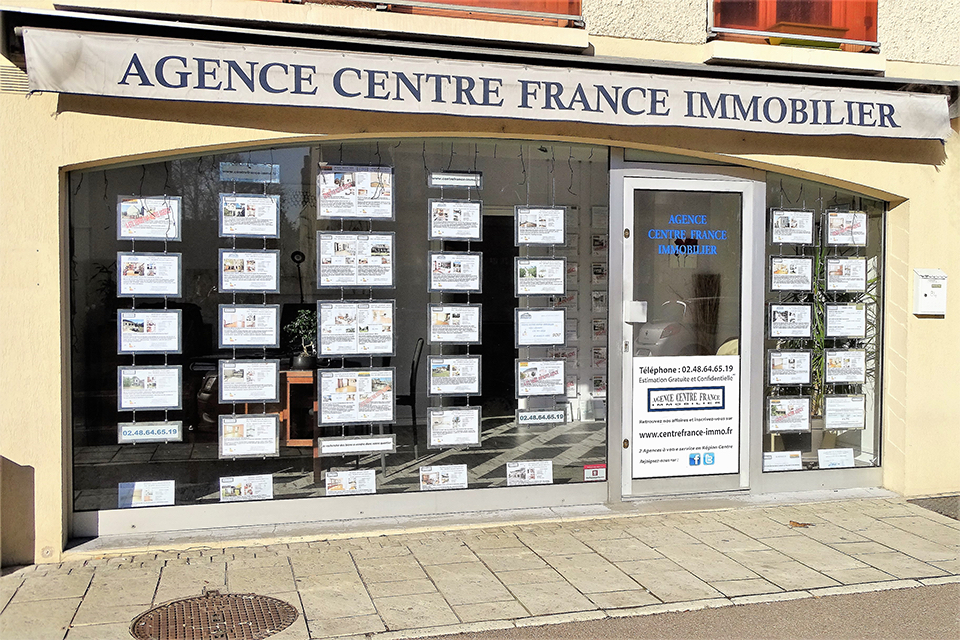Graphisme site Agence Centre France Immobilier